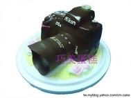 Nikon D3S單眼相機+遮光鏡造型蛋糕