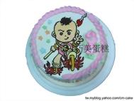 Q版三太子造型蛋糕