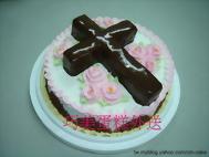 十字架立體造型蛋糕
