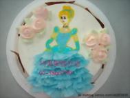 公主造型蛋糕