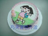 DORA(1)卡通蛋糕