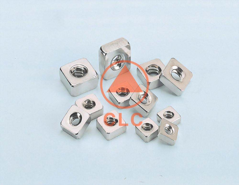 4 螺帽 OEM PRODUCT-SQUARE NUTS WITH NO CHAMFER