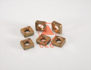 40 螺帽 BRASS SQUARE NUT、DIN562/557、MACHINE SCREWS SQUARE NUT(NO CHAMFER)