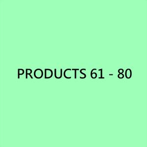 螺帽產品 61 - 80