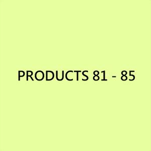 螺帽產品 81 - 85