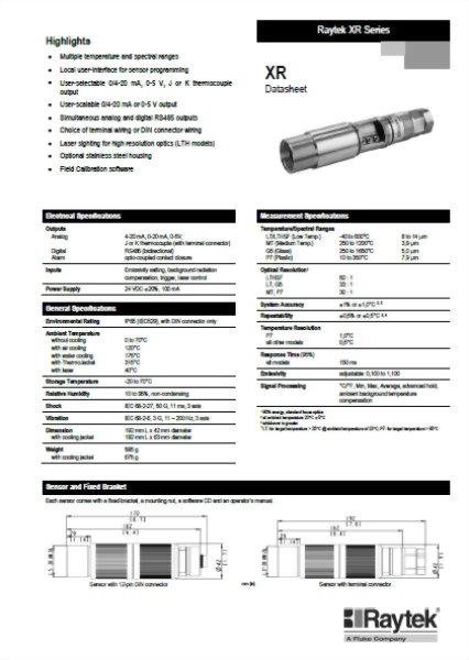 紅外線測溫器 Raytek Thermalert (-40°C ~ 2000°C)
