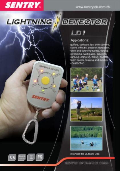 閃電偵測儀/雷電計 SENTRY LDX (0 km ~  64 km)