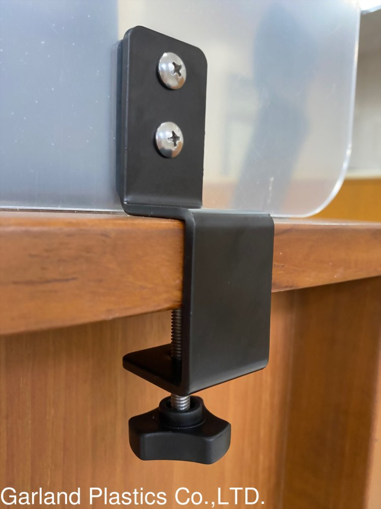 [ACS] Clamp-on Desk Divider (Acrylic Protective Barrier/Partition) #Removable