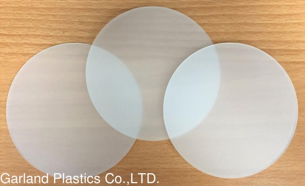 Microcrystalline Diffuser for Edge-Lit LED Fixtures Difusor Microcristalino