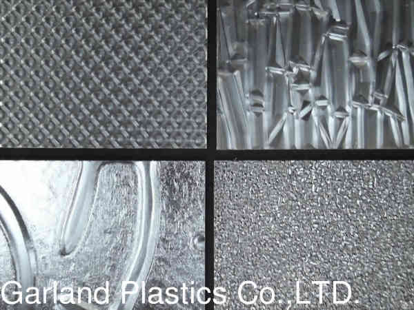 Acrylic Patterned Sheet Clear