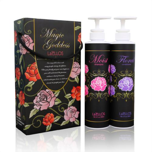 【愛諾斯】植萃水亮香水洗髮精(乾性水潤)-M256+重建素(潤髮)-M257