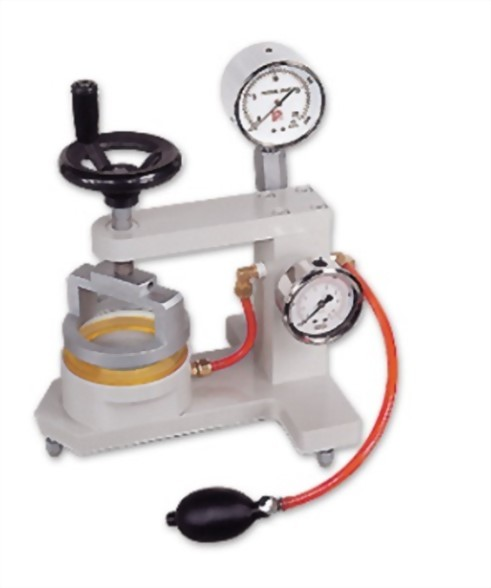 耐水度試驗機(手提型)雙錶式