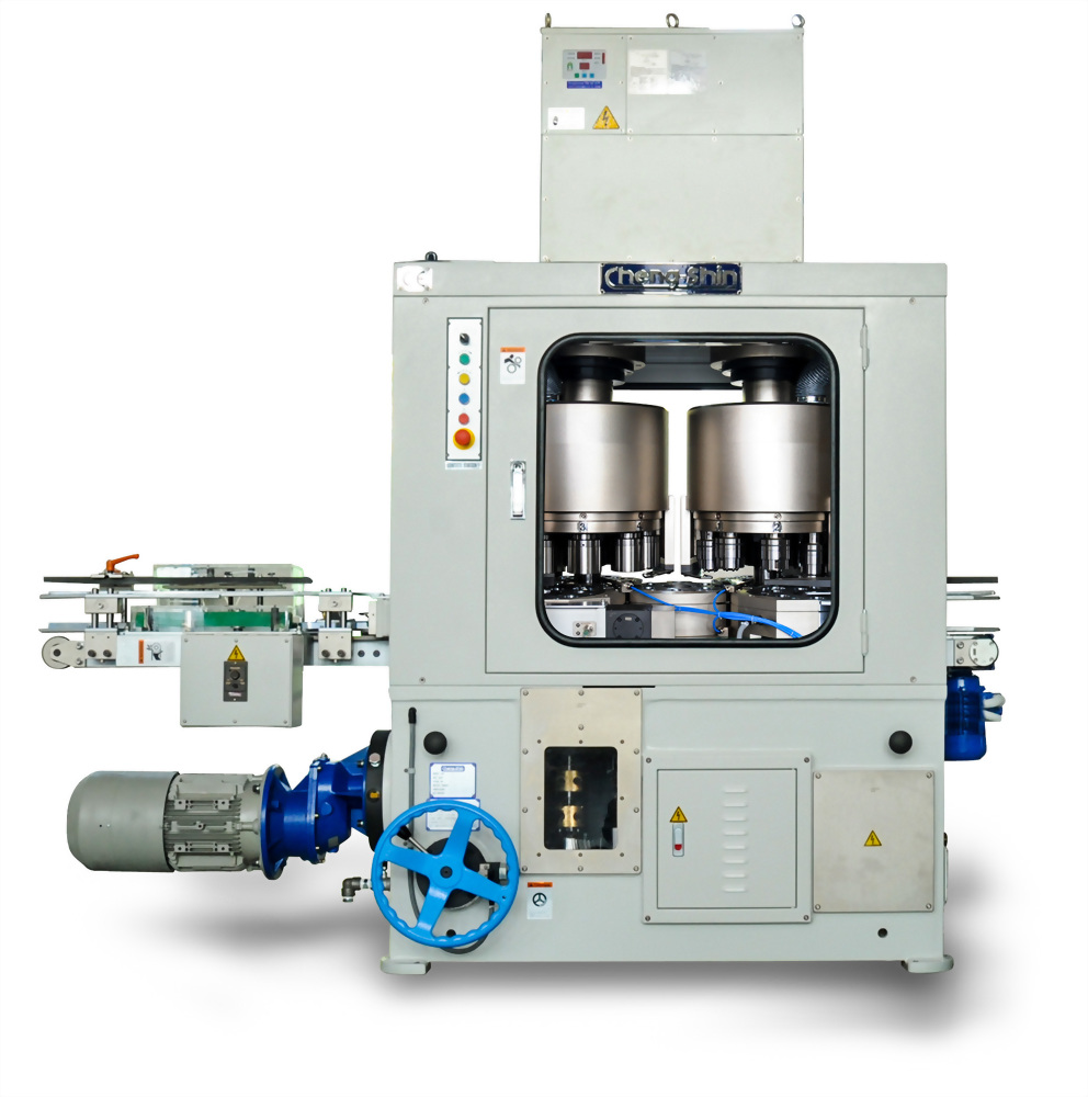 Vertical Type Necking/ Flanging Combination Machine