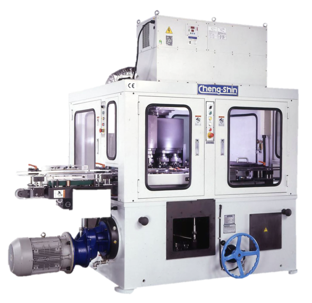 Vertical Type Necking/ Flanging/ Beadnig Combination Machine