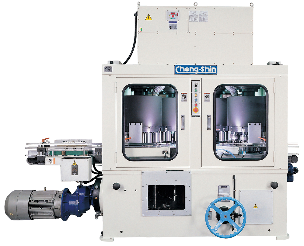 Vertical Type 3 Necking/ Flanging Combination Machine