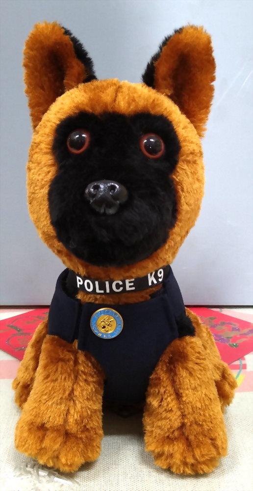 Polizeihund der Taichung Polizeistation (Version mit langen Haaren) 1