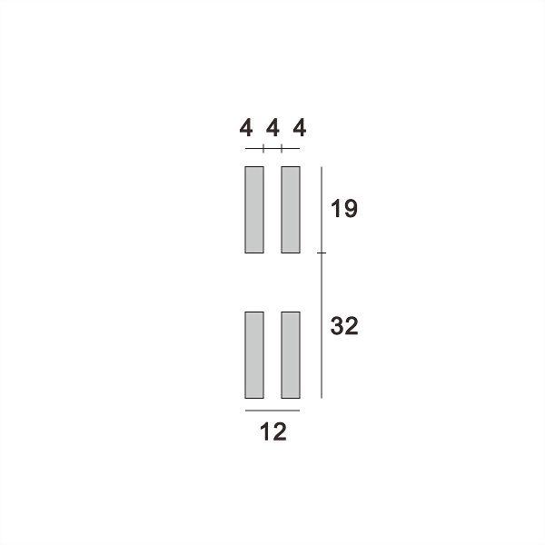 (AW008-32p) Wall upright