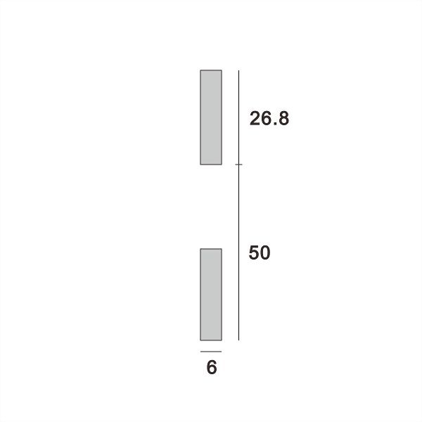 (AW012-50p) Wall upright