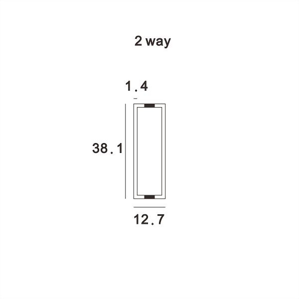 (AW015-50.8P) Wall upright