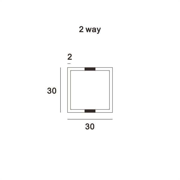 (AW019-40P) Wall upright