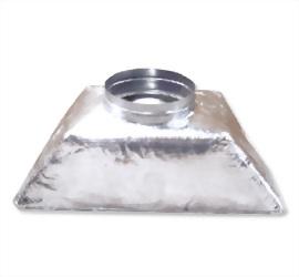 保溫玻璃棉型集風箱 1