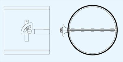 VD2 氣密手控型風門 2