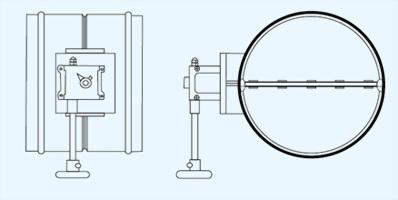 VD4 單軸雙葉片式歐姆型風門 2