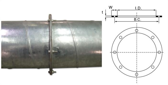 FB 扁鐵圓型法蘭 2