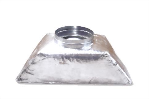 玻璃保溫棉型集風箱 1