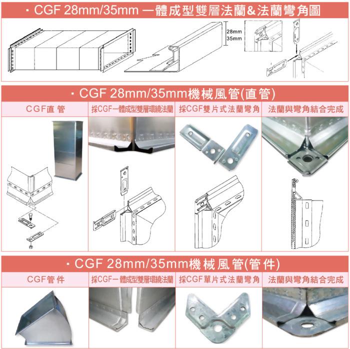 CGF機械成型風管 2