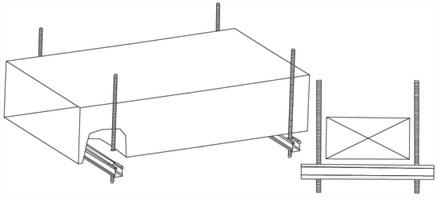 C型鋼風管吊架 2