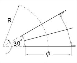 30°彎頭(2 GORE) 3