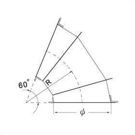 60°彎頭(3 GORE) 3