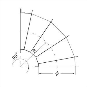 90°彎頭 (5 GORE) 3