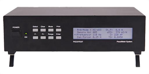 PIEZOTEST PM200 d33 PiezoMeter System
