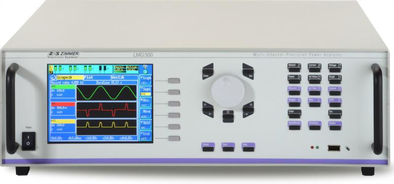 ZES ZIMMER LMG500 1 to 8 Channel Power Analyzer