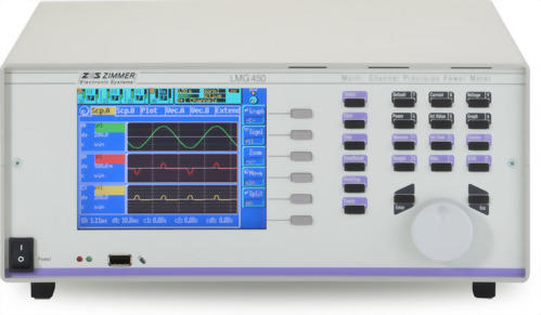ZES ZIMMER LMG450 4 Channel Power Analyzer