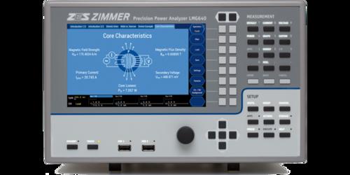 ZES ZIMMER LMG640 1 to 4 Channel Power Analyzer