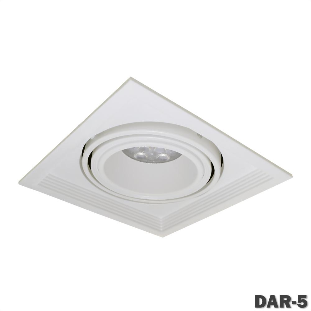 AR111 有邊框 單燈盒燈