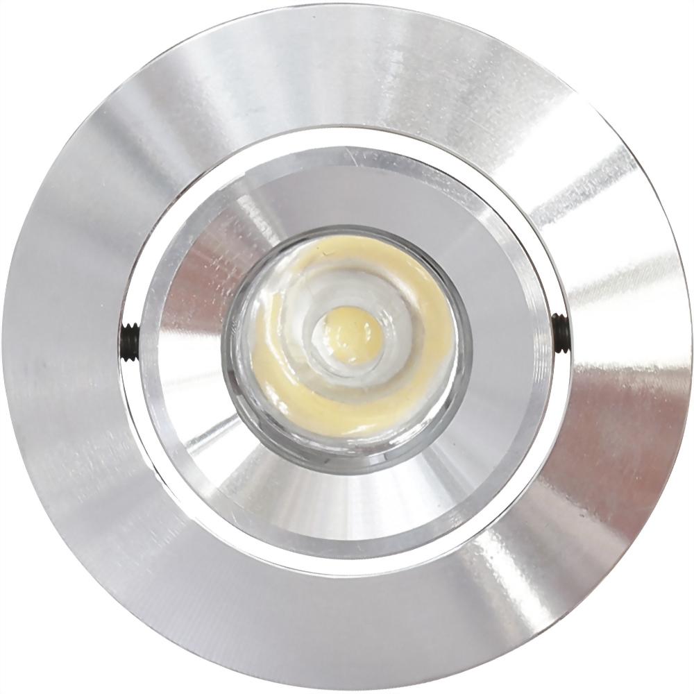 3W 1燈 內縮銀崁燈 崁4.5cm