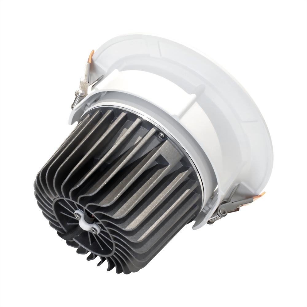 30W 壓鑄鋁可調角崁燈 崁15cm