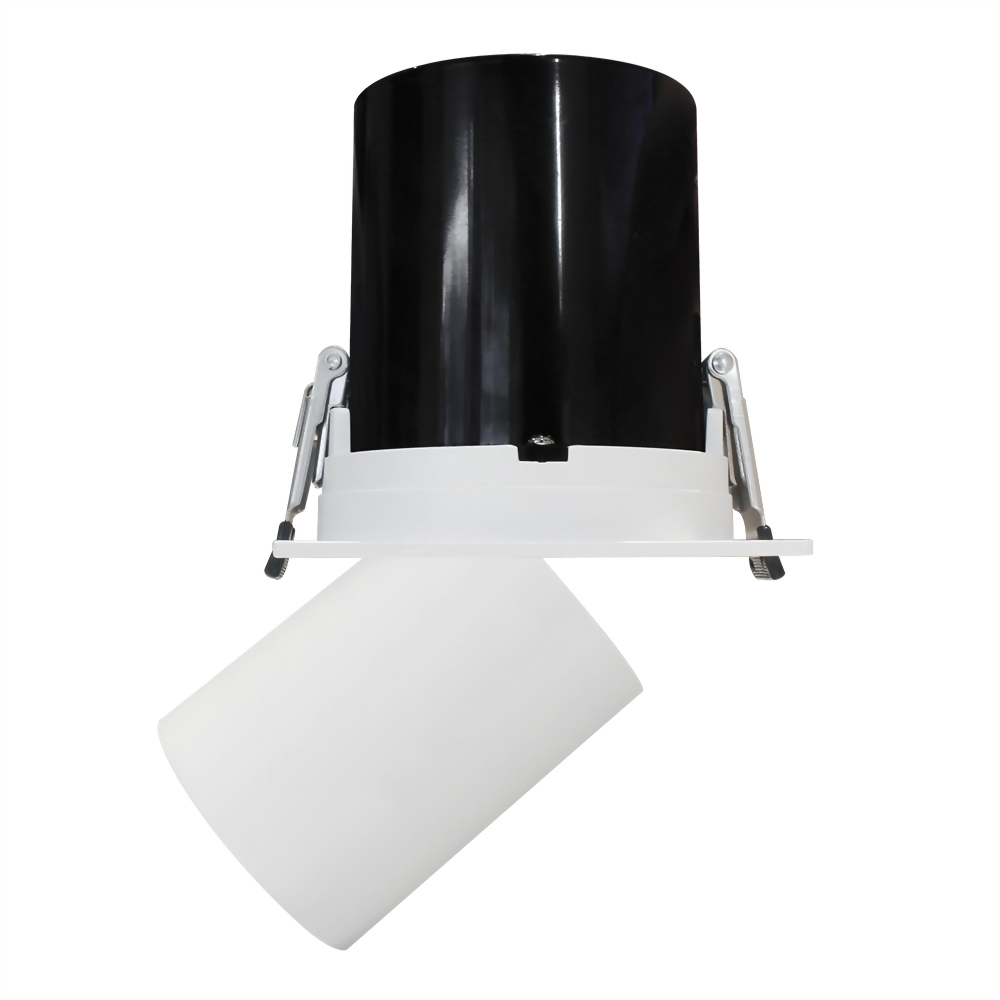 13W 可伸縮,旋轉,調角投射方型崁燈 崁9cm