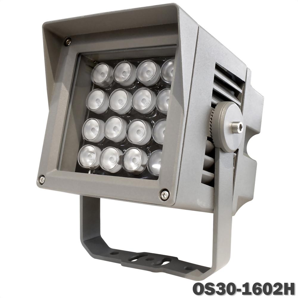 30W 16燈 壓鑄鋁投光燈(戴帽版)