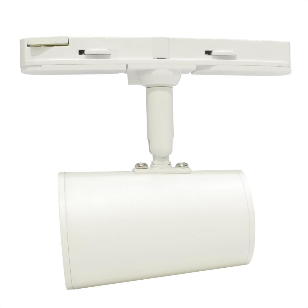 6W 4燈 Nichia 短型錐狀圓筒軌道燈(一字軌道盒)