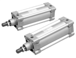 ISO-6431/VDMA Single rod, Double acting Non tie-rod cylinder AMA