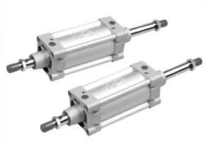 ISO-6431/VDMA Double rod, Double acting Non tie-rod cylinder AMC