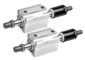 JIS Double Rods with Forward Alignment Cylinders