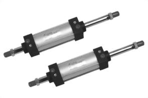 Double rod, Double acting, JIS Cylinder AL2C