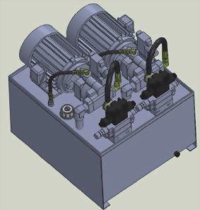冷卻床液壓系統