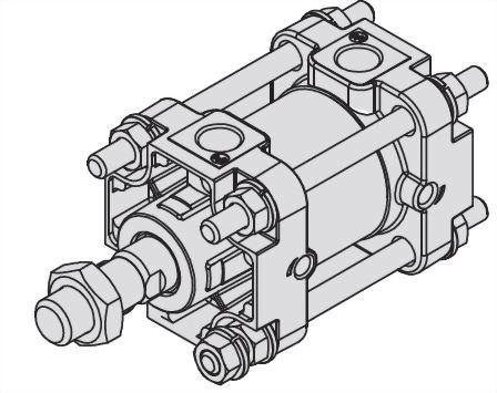 ASCA复动柱型标准汽缸